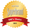 Voted Superbrands 2012