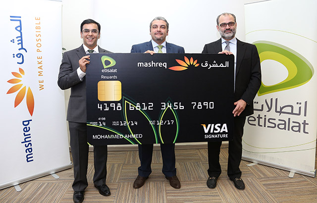 Mashreq and Etisalat launch the UAE's first